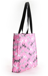 Pink Puppies Tote Bag