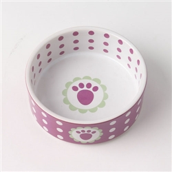 Daisy Dots Stoneware Bowls