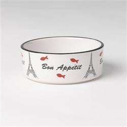 Bone Appetit Stoneware Bowl