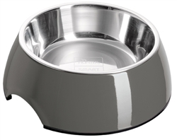 Grey Melamine Bowl by HUNTER