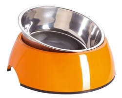 Orange Melamine Bowl by HUNTER