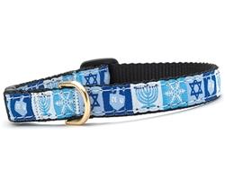 Hanukkah Cat Collars