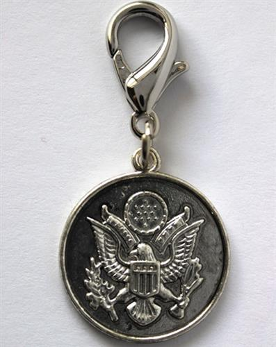 Great Seal of the United States Dog Collar Charm