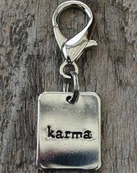 Karma Dog Collar Charm