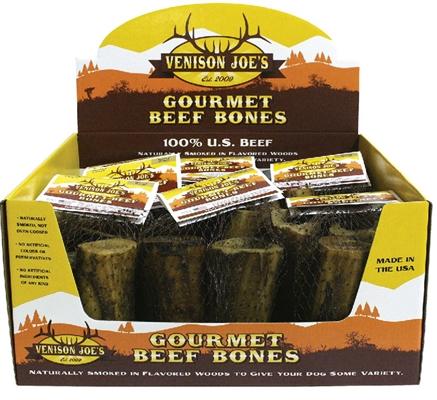 Hickory Smoked Medium Beef Bone 3-Pack 10/cs