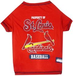 St. Louis Cardinals Dog Tee Shirt