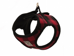 Step In Cirque Harness - Red Buffalo Plaid