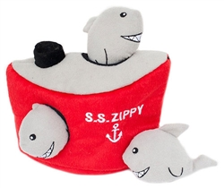 Zippy Paws - Zippy Burrow Shark 'n Ship