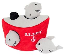 Shark 'n Ship Burrow by Zippy Paws