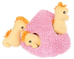 Seahorse 'n Coral Burrow by Zippy Paws