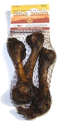 Smoked Wild Boar Bone 3-Pack 10/cs