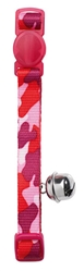 Cat Collar Camouflage Nylon- Red, HUNTER International, Germany
