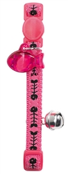 Cat Collar Fishbone Nylon - Pink, HUNTER International, Germany