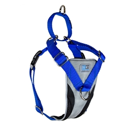 Ultimate Control Harness - Grey/Royal Blue
