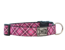 Collars and Leads - Pink Tartan
