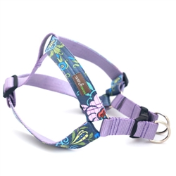 bouquet Laminated Cotton Step-In Dog Harness