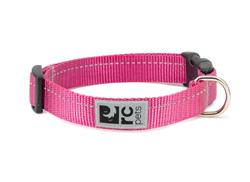 Primary Collars and Leads - Raspberry