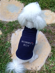 Mommy's Boy Tank by Daisy and Lucy