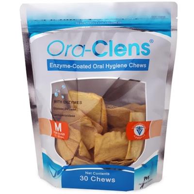 Dental Chews - Ora-Clens Oral Hygiene Chews Medium (30 Chews)