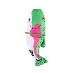 """GoDog™ RipZZZ Rainbow Trout with Chew Guard 13"""""""