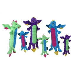 GoDog™ Skinny Dragons Green with Chew Guard