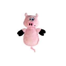"Hear Doggy™ Flatties Pig with Chew Guard 12"""