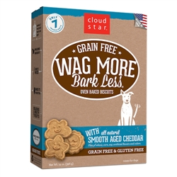 Grain Free Oven Baked Treats with Smooth Aged Cheddar - 14 oz