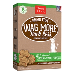 Grain Free Oven Baked Treats with Chicken and Sweet Potatoes - 14 oz