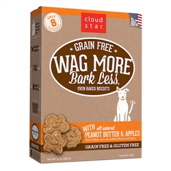 Grain Free Oven Baked Treats with Peanut Butter and Apples - 14 oz