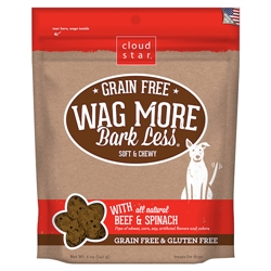 Grain Free Soft & Chewy Treats with Beef & Spinach - 5 oz