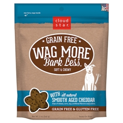 Grain Free Soft & Chewy Treats with Smooth Aged Cheddar - 5 oz