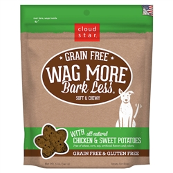 Grain Free Soft & Chewy Treats with Chicken and Sweet Potato - 5 oz