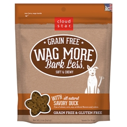 Grain Free Soft & Chewy Treats with Savory Duck - 5 oz
