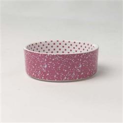 Confetti Dots Stoneware Bowls