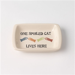 One Spoiled Pet Cat Bowl Collection