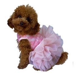 Fufu Tutu Dress Pink