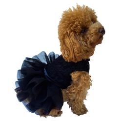Fufu Tutu Dress Black