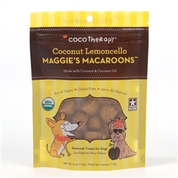 Coconut Lemoncello Maggie's Macaroons™ from CocoTherapy®