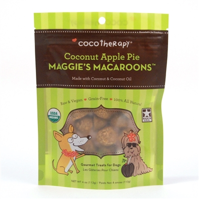Coconut Apple Pie Maggie's Macaroons™ from CocoTherapy®