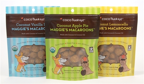 Coconut Vanilla Flax Maggie's Macaroons™ from CocoTherapy®