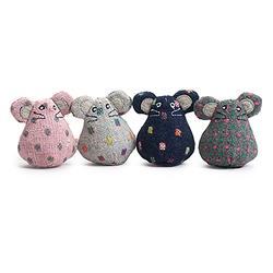 Hugglekats Polka Dot Organic Catnip Toys  (16 pieces)