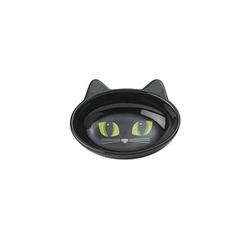 Frisky Kitty Stoneware Cat Bowl - Oval