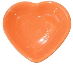 Fiesta Petware - Tangerine Heart Bowl - USA