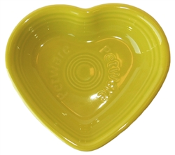Lemon Grass Heart Bowl by Fiesta