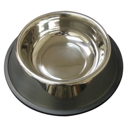 Non-Tip Anti-Skid Stainless Steel Feeding Bowls