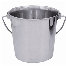 Stainless Steel Round Bucket