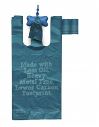 Light Blue Eco-Friendly Pet Waste Bags from Renewable Thermoplastic Starch - SOLD OUT
