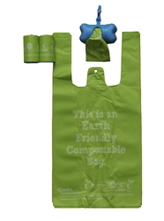 Green Eco-Friendly Pet Waste Bags from Thermoplastic Starch - SOLD OUT