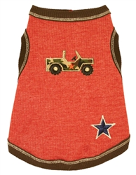 Orange Jeep Tank Top