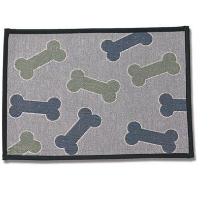Kool Bones Aqua/Gray Tapestry Placemat